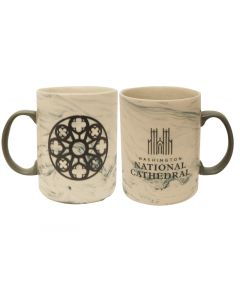 Cathedral Marble-Design Mug