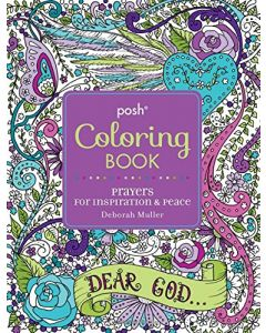 Prayers For Inspiration & Peace Coloring Book