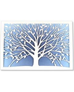 ''Tree of Life'' Laser-Cut Note Cards