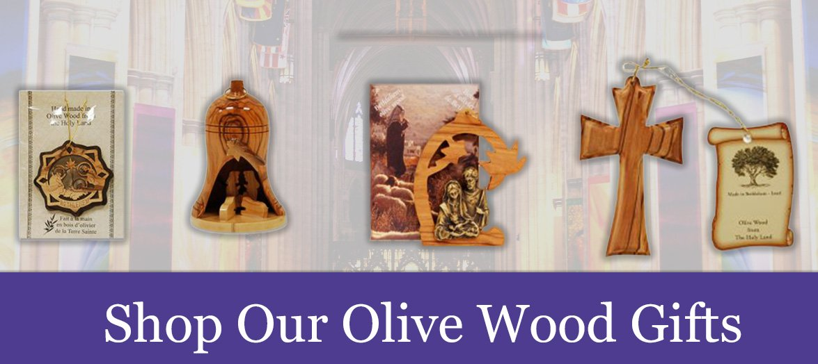 Shop our Olive Wood Religious Gifts