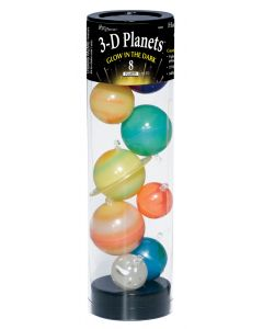 3D Glow-in-the-Dark Planets