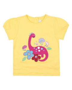Girls Diplodocus Appliqué Tee
