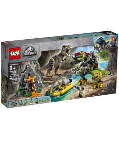 Lego Jurassic World T. rex vs Dino-Mech Battle- Front