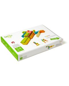 Tegu Classics Tints 24-Piece Set- Box