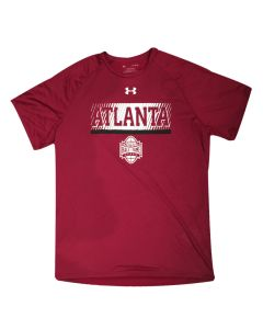 Adult UA Tech® Atlanta College Football Hall of Fame T-Shirt
