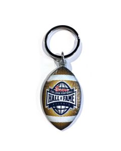College Football Hall of Fame 3-D Digital Print Football Keychain