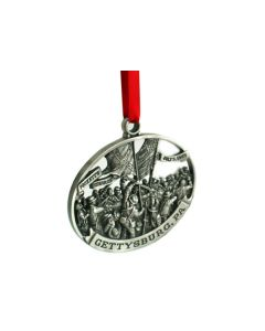 Picketts Charge Pewter Ornament