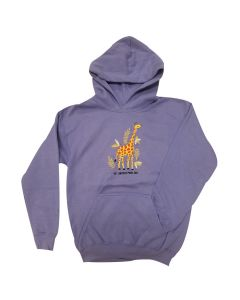 Girl Pullover Giraffe Fleece