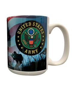 Photo Army Seal Mug