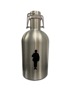 Silver Army Growler