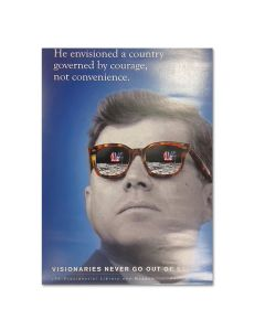 JFK Visionaries Series Courage Poster