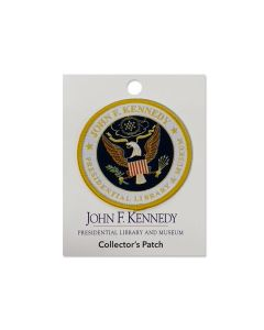 JFK Presidential Seal Iron On Patch