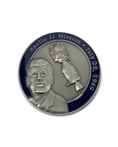 JFK Apollo 11 Commemorative Coin