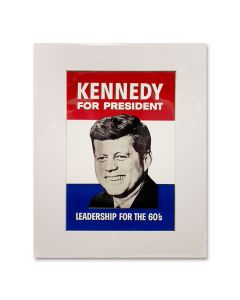 JFK for President Matted Print