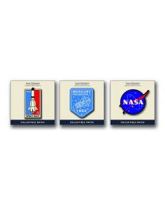 Space Travel Stick-On Patches