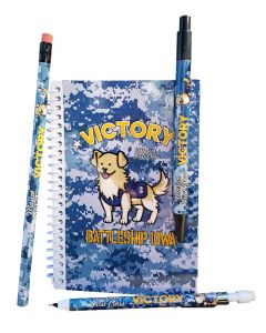 Victory Dog IOWA Notebook Set