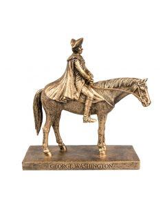 7'' George Washington on his Horse Figurine