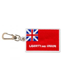 Liberty and Union Flag Backpack Clip