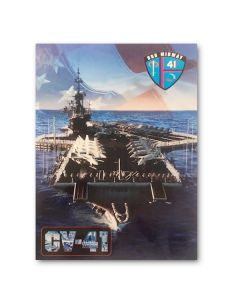 USS Midway Flight Deck Postcard