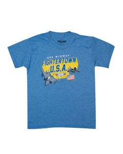 Youth Fightertown U.S.A. Top Gun T-Shirt
