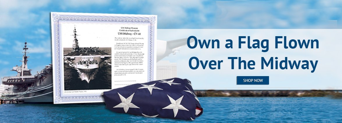 Own a Flag Flown Over the Midway
