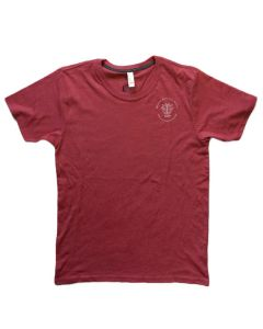 Adult Burgundy Sustainable Tee