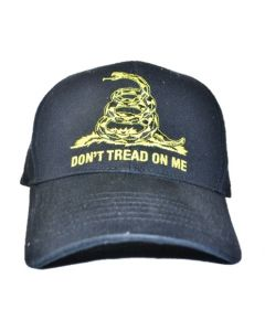 Don't Tread on Me Black Cap
