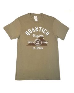 Adult Quantico Virginia Top Secret T-Shirt