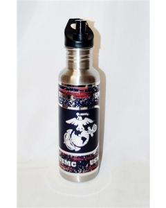 USMC Stainless Steel Water Bottle