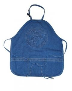 USMC Embossed Denim Apron
