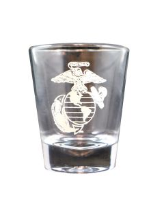 Eagle, Anchor and Globe Shot Glass