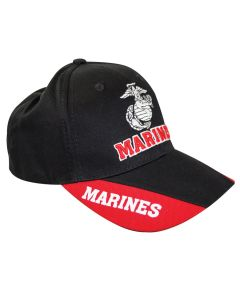 Marines  Eagle, Globe and Anchor Double Design Cap