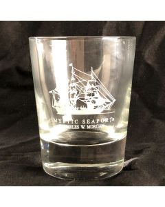 CHARLES W. MORGAN Double Old Fashioned Glass