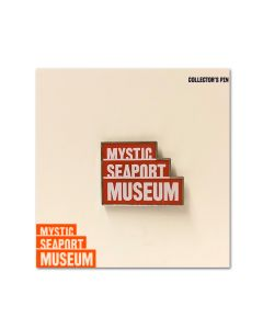 Mystic Seaport Museum Logo Pin