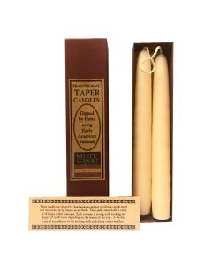 Boxed Vanilla Taper Candles